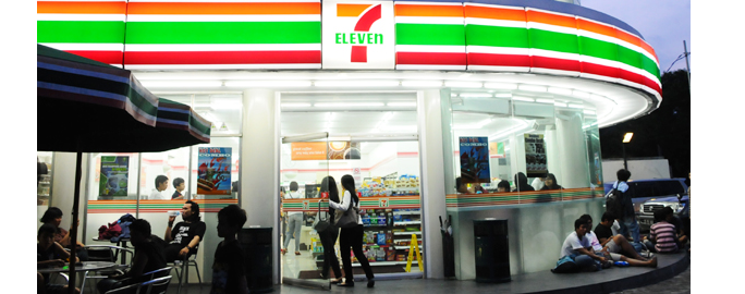 Charoen Pokphand Indonesia to Acquire Convenience Store 7-Eleven ... Indonesia Investments684 × 270Search by image While originally being a convenience store, 7-Eleven outlets in Indonesia added a fast-food concept where the stores would sell ready-to-eat snacks (and ...