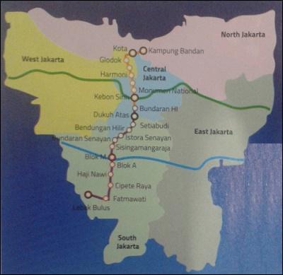 Mass Rapid Transit Mrt Jakarta Indonesia Investments