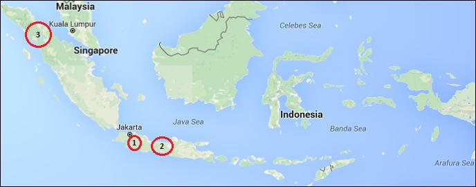 Peta Provinsi Jawa Timur Dan Keterangannya