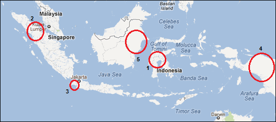 Cocoa Production in Indonesia