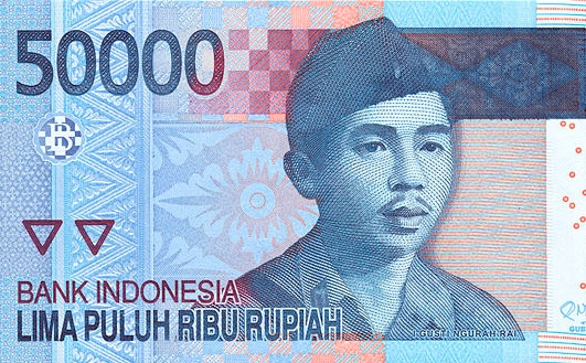 Indonesian Rupiah Exchange Rate Rebounds from Six-Year Low