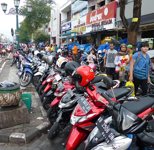 Motorcycles Sales in Indonesia Fall on Declining Purchasing Power