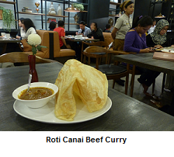 Roti Canai Beef Curry Penang Bistro Indonesia Investments