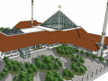 Islam in Indonesia: Hasyim Asy'Ari Grand Mosque Opened in West Jakarta